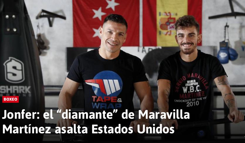 """Jonfer: el """"diamante"""" de Maravilla Martínez asalta Estados Unidos"""
